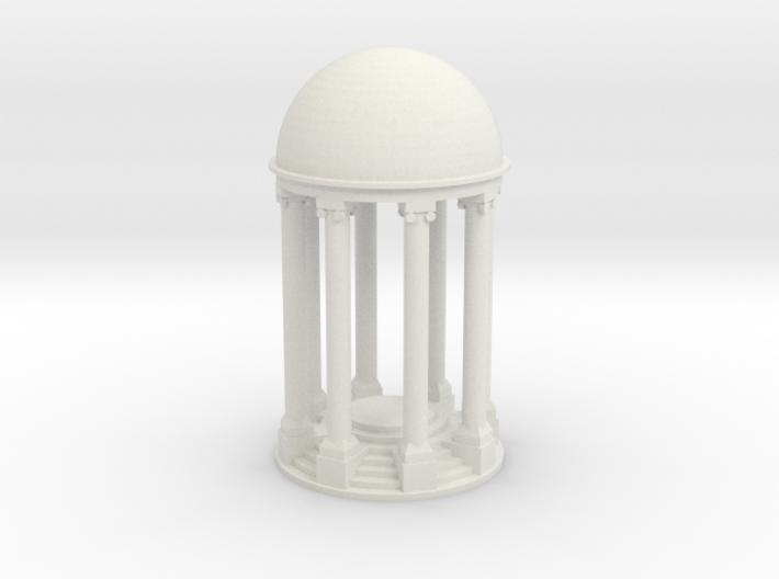 Tempel V2 - 1:120 3d printed