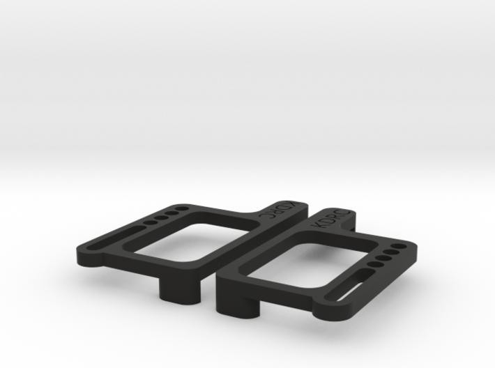 B6 LCG battery plates 3d printed