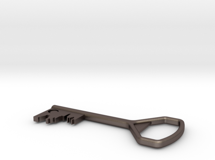 Church Key to the City - Bottle Opener 3d printed