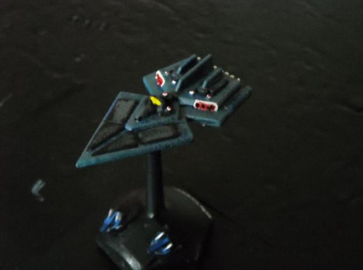 GDH:V201 Devastator II Heavy Cruiser 3d printed Painted model (Fighters by Irregular Miniatures)