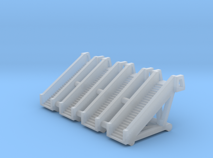 Aircraft Boarding Stairs - 1:500 Scale 3d printed