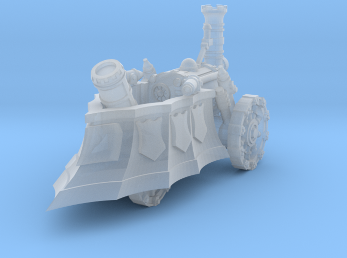 10mm Imperial Mortar Tank (1pcs) 3d printed