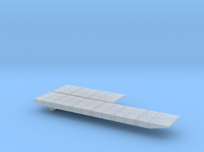 1/1800 Mexeflote non-powered 3d printed