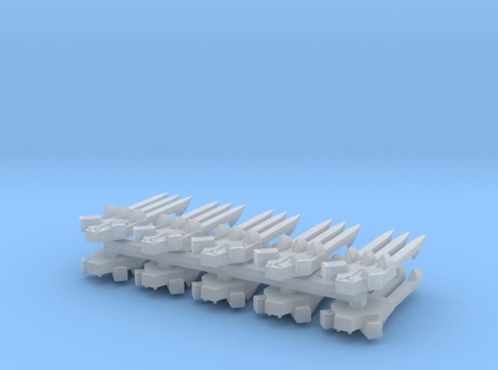 Lightning Claws #2 (x5) 3d printed