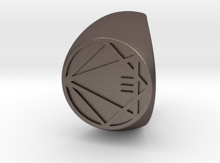Custom Signet Ring 65 3d printed
