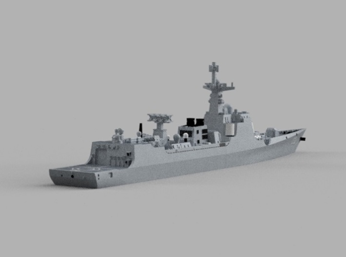 1/2000 CNS Lanzhou 3d printed Computer software render.The actual model is not full color.