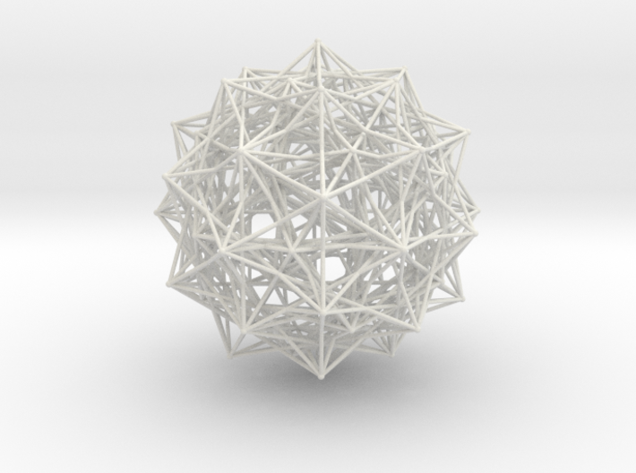 Grand 600-cell, small spheres 3d printed