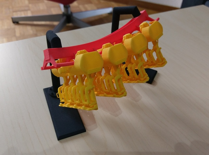 Inverted Wagon small 3d printed