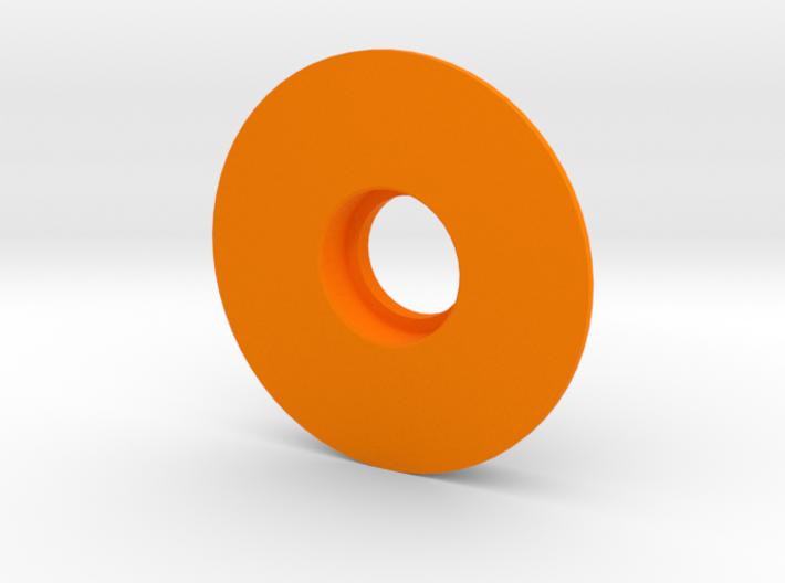 Kossel XL Lager Filamentspule - Ndo Design 3d printed