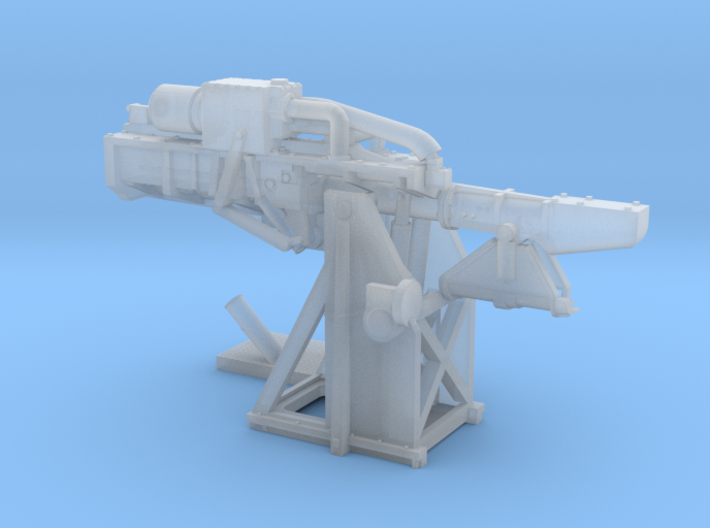 1/144 USN 5 inch Loading Machine Starboard 3d printed