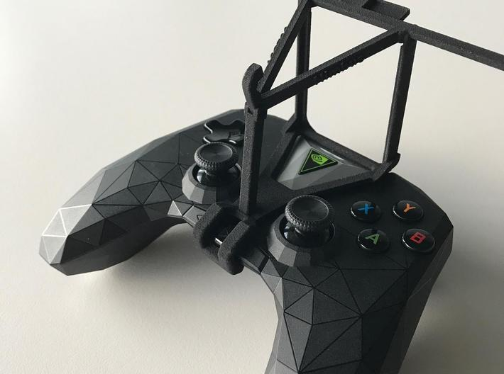 NVIDIA SHIELD 2017 controller & Lava A48 - Over th 3d printed SHIELD 2017 - Over the top - barebones