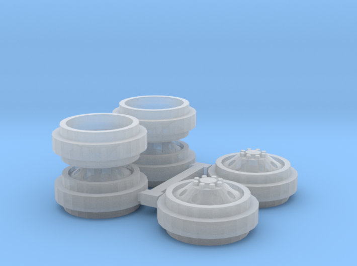 1/64 Alcoa Dually Rims (1 Set) 3d printed