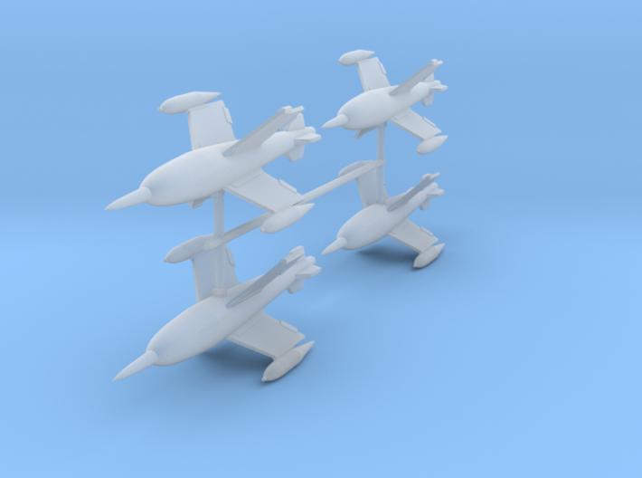 Ruhrstahl X-4 (Quad-pack) 3d printed