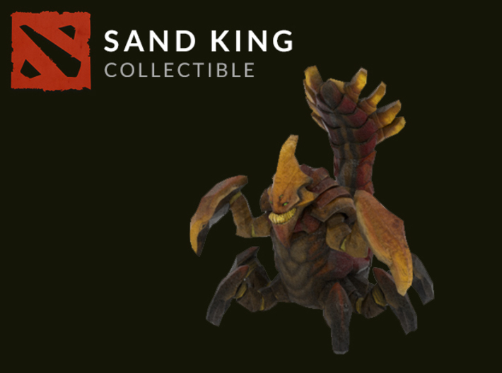 Sand King 3d printed