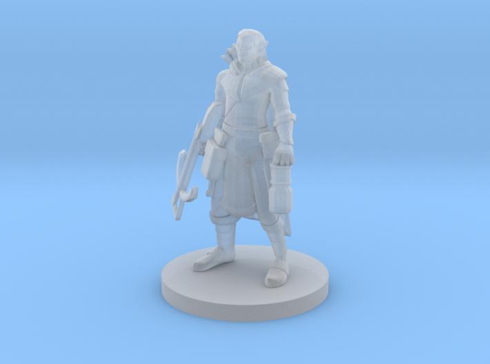 Elf Crossbow Ranger 3d printed