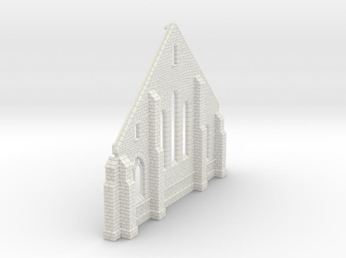 HORelM0142 - Gothic modular church 3d printed