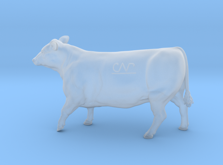 1/64 Yearling Heifer 01 3d printed