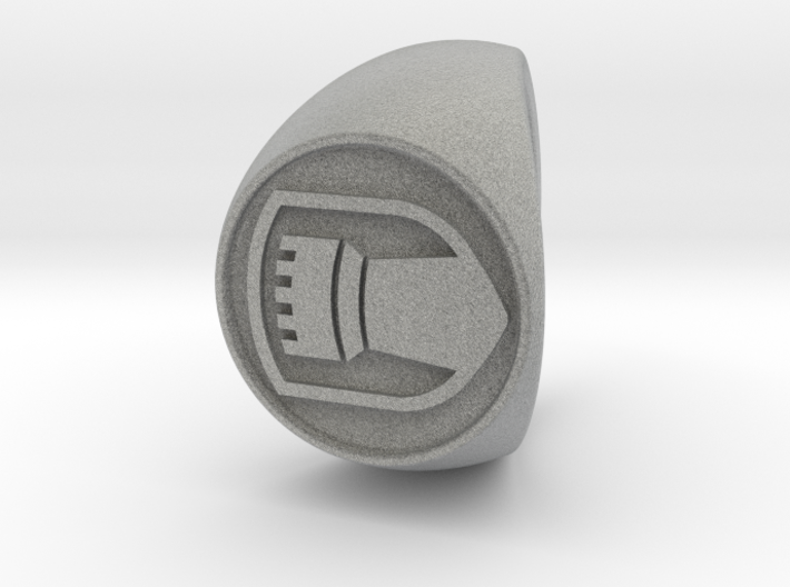 Custom Signet Ring 64 3d printed