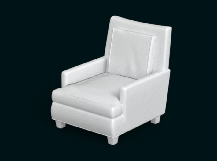 1:10 Scale Model - ArmChair 06 3d printed