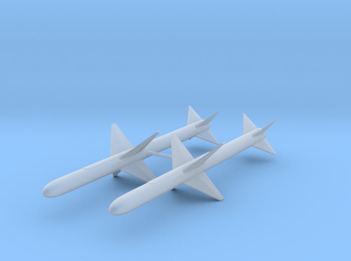 """AAM-N-3/AIM-7B """"Sparrow II"""" 3d printed"""
