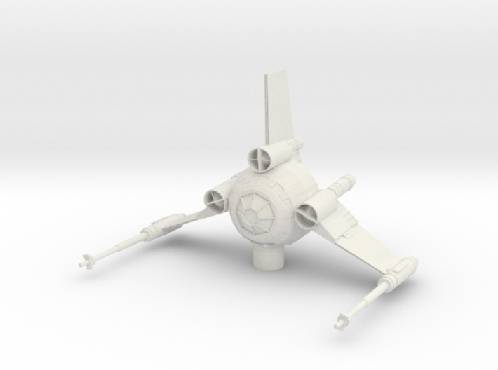 Tri Wing Fighter 3d printed