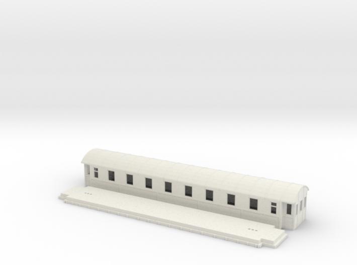 Co4b version 1 - Swedish passenger wagon 3d printed