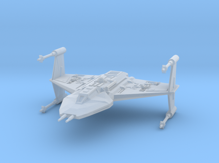 Toscan-class Fighter 3d printed