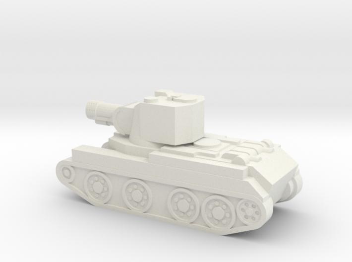 BT-42 Assault Gun (MINI) 3d printed