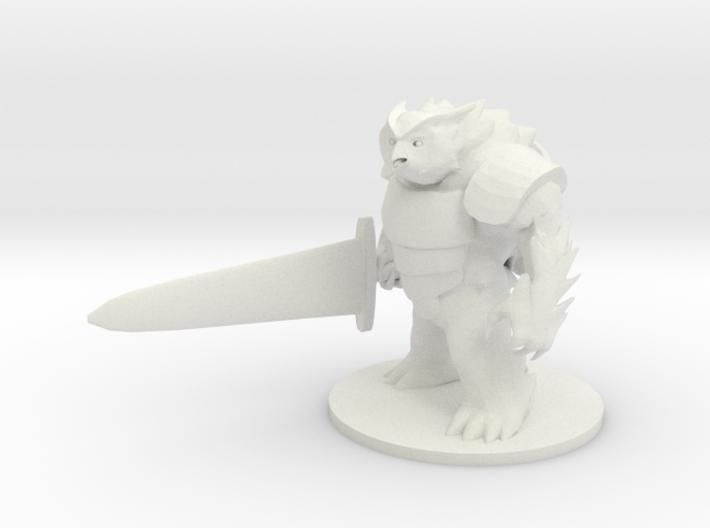 Battle Owl Bear 3d printed