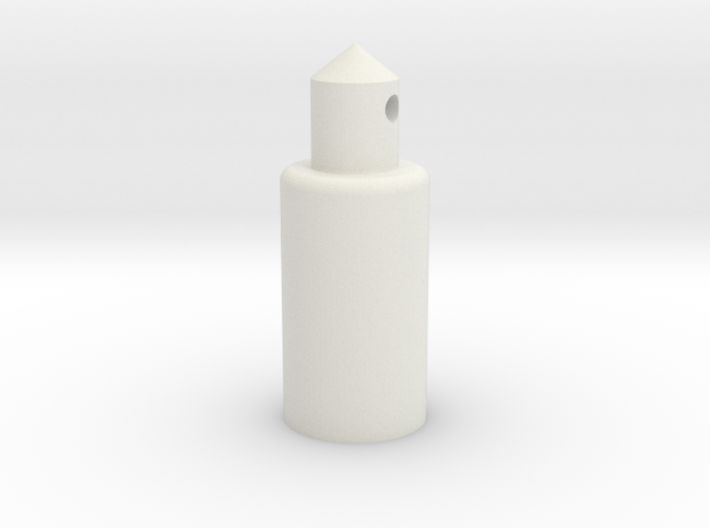 Round Battery Post 3d printed