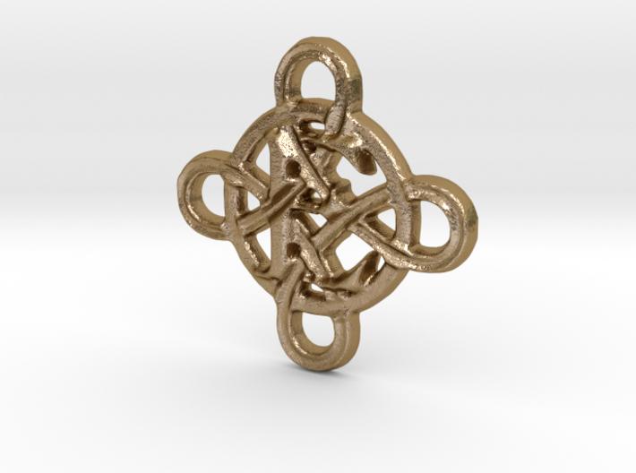Celtic Initial E 3d printed