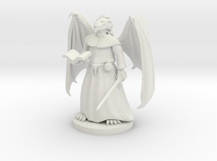 Dragonborn Priest 3d printed
