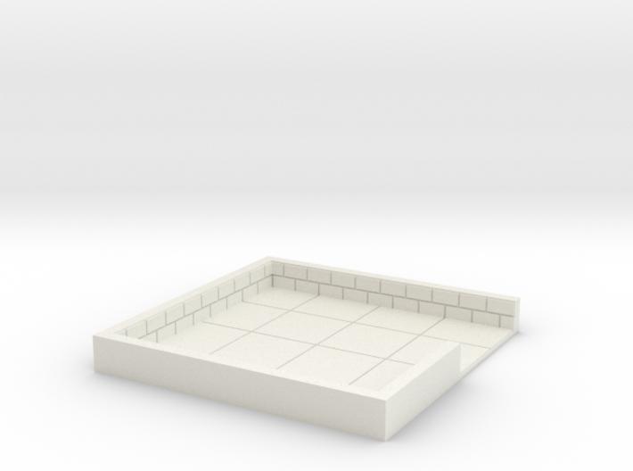 4x4_doubledoor_c 3d printed