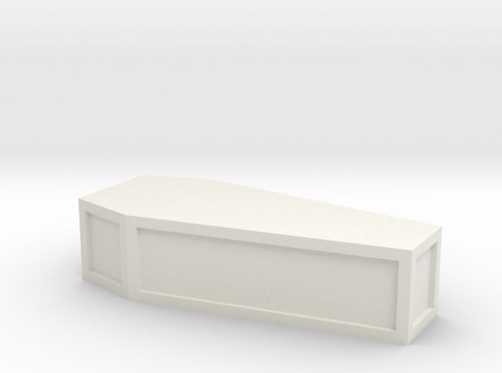 flat-top_coffin 3d printed