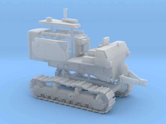 1/87th Large Bulldozer Tractor 3d printed
