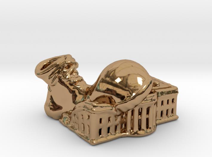 Clown Shoe Squish - Precious Metals 3d printed