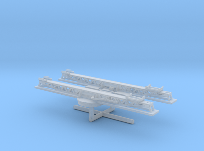 1/600 USN Catapult P-6 Set 3d printed