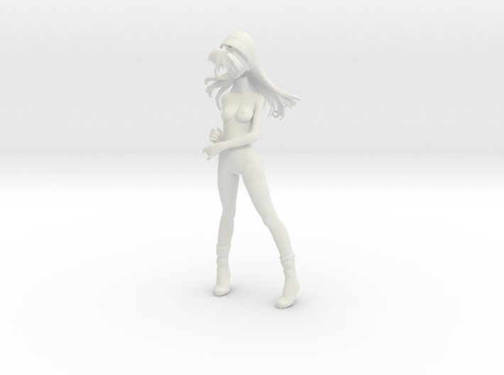1/6 Race Queen Asuka Umbrella Pose Nude 3d printed