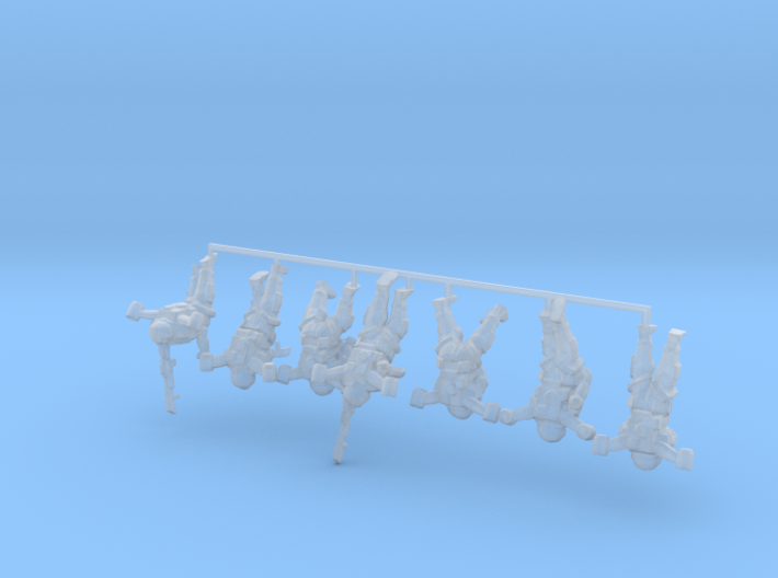 EVA Troopers 1:100 Squad 3d printed