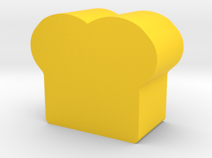 Bread Game Piece 3d printed
