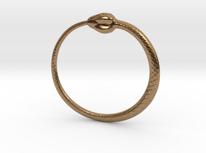 Ouroboros Pendant 6.2cm 3d printed
