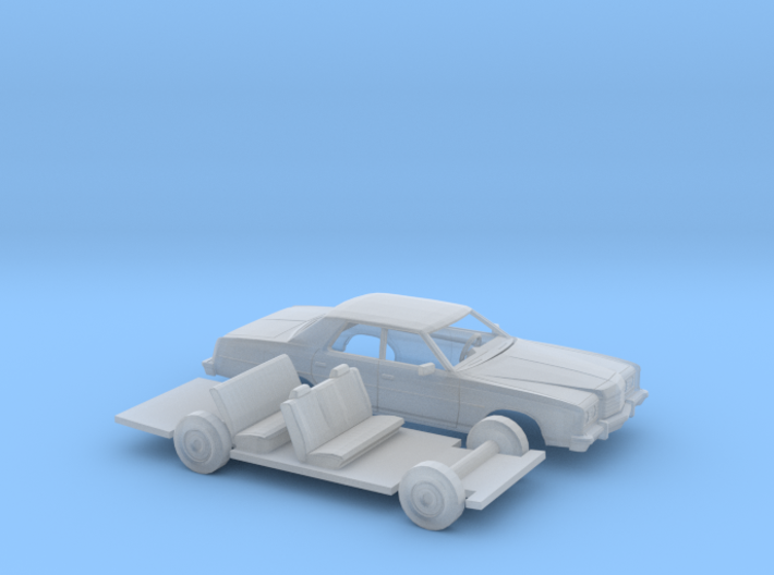 1/87 1974 Ford LTD Sedan Kit 3d printed