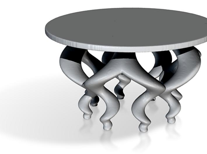 Seashell Legged Fractal Little Table 3d printed
