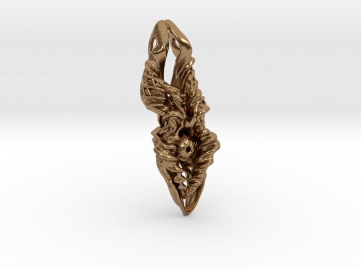 inner beauty 2 pendant 3d printed