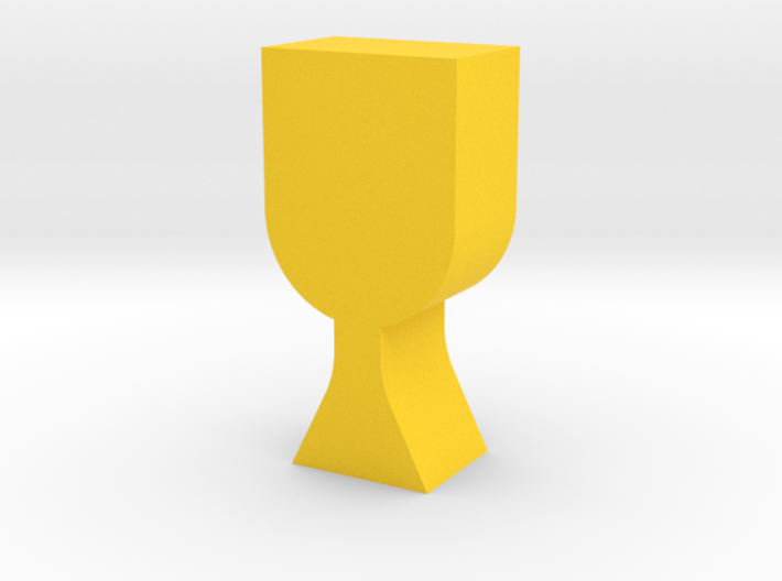 Goblet Game Piece 3d printed
