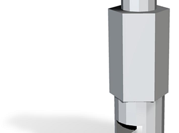 Screwdriver Schrader Valve Tool 3d printed