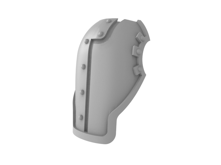 Robot Knight - Face Plate 3d printed