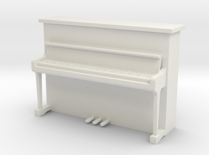 Printle Thing Upright Piano - 1/24 3d printed