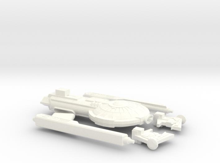 1000_ghorn_escort_frigate 3d printed