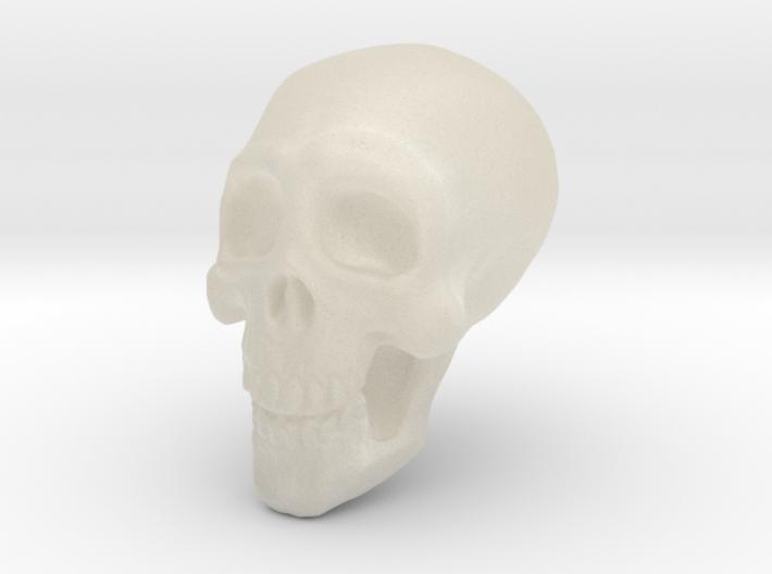 Tiny Skull 3d printed